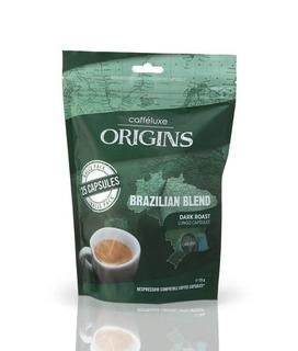 Cápsulas Brazilian Blend - Pct C/ 25 Unid (padrao Nespresso)