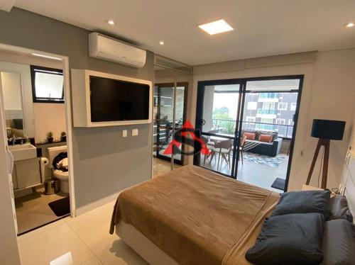 Studio Com 1 Dormitório À Venda, 40 M² Por R$ 800.000,00 - Vila Olímpia - São Paulo/sp - St0192