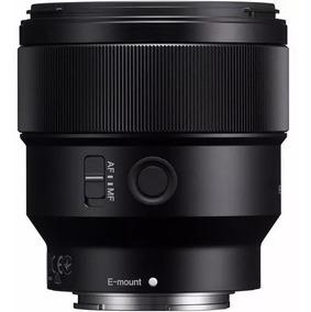 Lente Sony Fe 85mm F/1.8 E Mount Full Frame