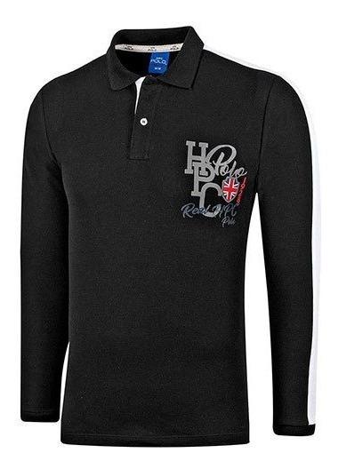 Playera Hombre Polo Houston Hpc 334-l /ngbl/ 92300 /ch A Xg