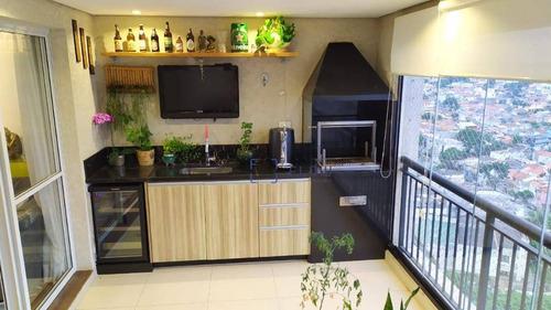 Apartamento Com 2 Dormitórios À Venda, 94 M² Por R$ 1.080.000,00 - Vila Guarani (zona Sul) - São Paulo/sp - Ap12127
