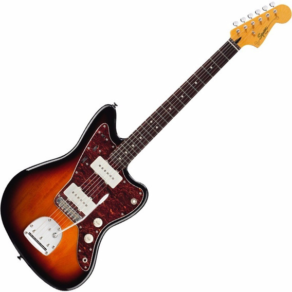 Guitarra Fender Squier Jazzmaster Vintage Modified Sunburst