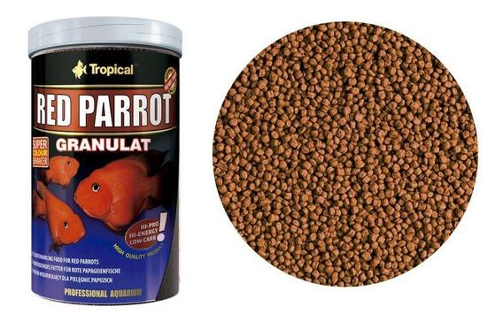 Ração Red Parrot Granulat 400gr Tropical