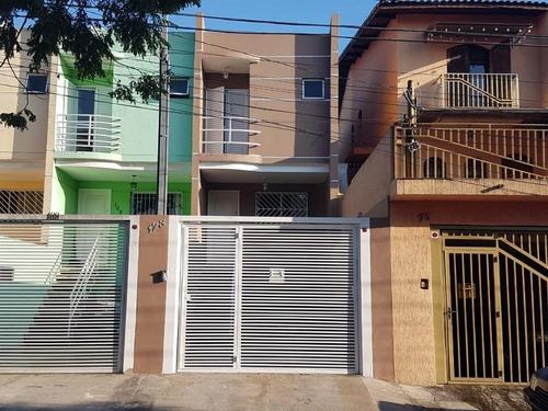 Sobrado Com 3 Dormitórios À Venda, 106 M² Por R$ 520.000,00 - Cidade Patriarca - São Paulo/sp - So6577