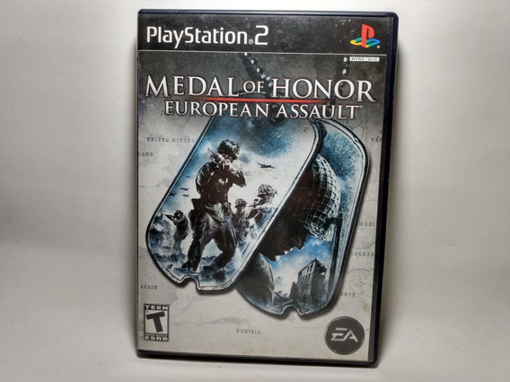 Medal Of Honor European Assault - Original Americano - Ps2