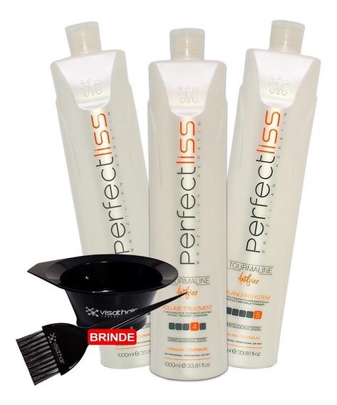 Escova Progressiva Perfect Liss Visat Hair