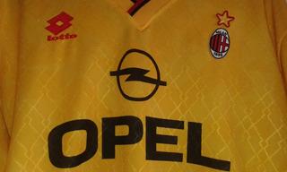 Camisa De Futebol Milan Amarela