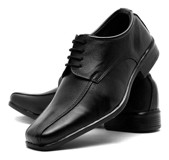 Sapato Social Masculino Couro Promoção Envio Imediato