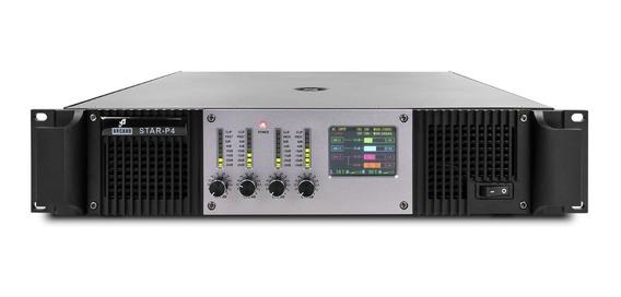 Amplificador Potência 4 Canais Arcano Star-p4 6400w 110v Sj