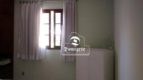 Sobrado Com 3 Dormitórios À Venda, 220 M² Por R$ 820.000,00 - Santa Maria - Santo André/sp - So2639