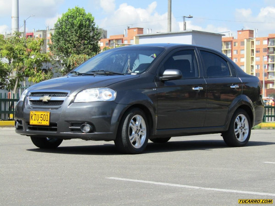 Chevrolet Aveo Emotion At 1600cc Aa 2ab