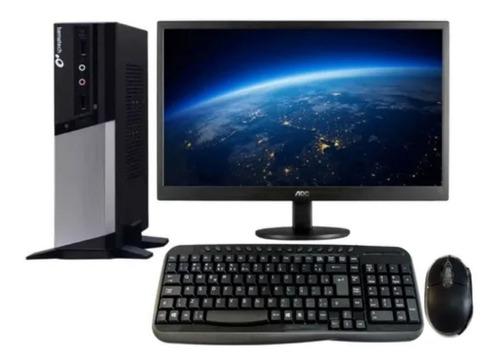 Imagem 1 de 1 de Computador Rc-8400+monitor Led 15.6+kit Teclado E Mouse + Nf