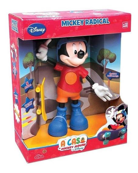Boneco Mickey Radical A Casa Do Mickey Mouse Ref 900 Elka