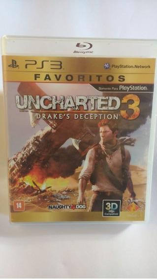 Uncharted 3 - Mídia Física - Ps3