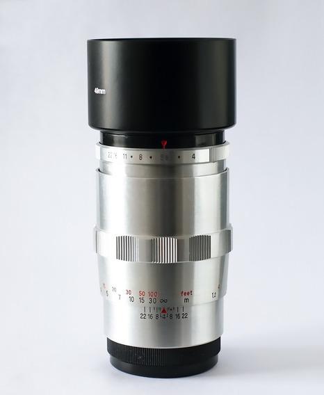Lente Carl Zeiss Sonnar 135mm Encaixe Rosca M42