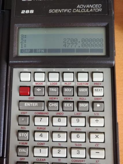Calculadora Hp28s