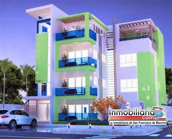 Lujoso Apartamento En Venta 5,500,000 Pesos S.f.m