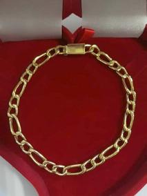 Bracelete Masculino Ouro 12k