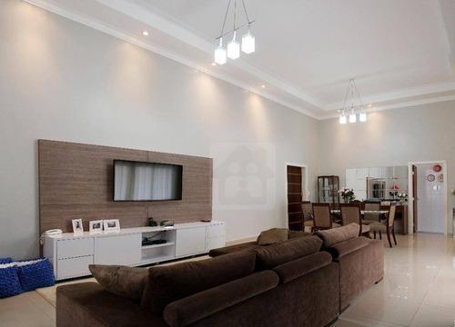 Casa Com 3 Dormitórios À Venda, 199 M² Por R$ 820.000,00 - Condomínio Serra Dourada - Araçatuba/sp - Ca0711