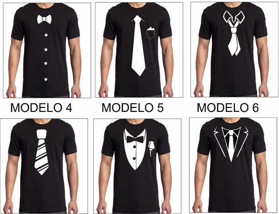 Remeras De Diseño Corbata Moño Rosario Esqueleto En Vinilo Unisex Oferta Cuotas Sin Interes