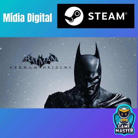 Batman Arkham Origins - Steam Key Original Código Digital