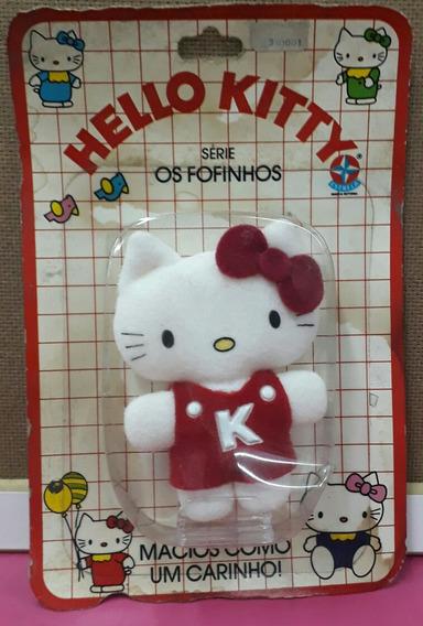 Hello Kitty - Anos 80 - Colecionável - Vermelha - Estrela