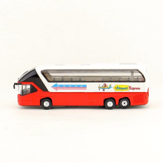 Miniatura Ônibus Rodoviário Truck C/som E Luz - Escala 1:55