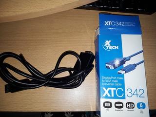 Cable Xtech Displayport Macho-vga