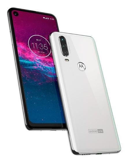 Celular Motorola One Action 128gb Triple Cámara Gtia Oficial
