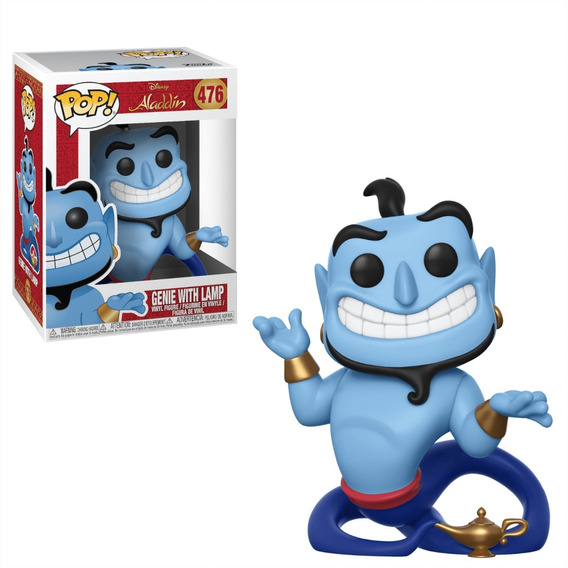 Genie With Lamp Funko Pop No 476 De Aladin Disney
