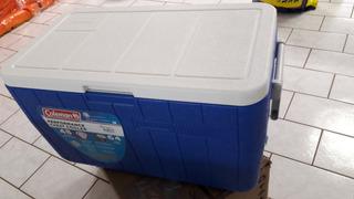 Caixa Térmica 45,4 Litros Azul - Coleman / Invicta Top