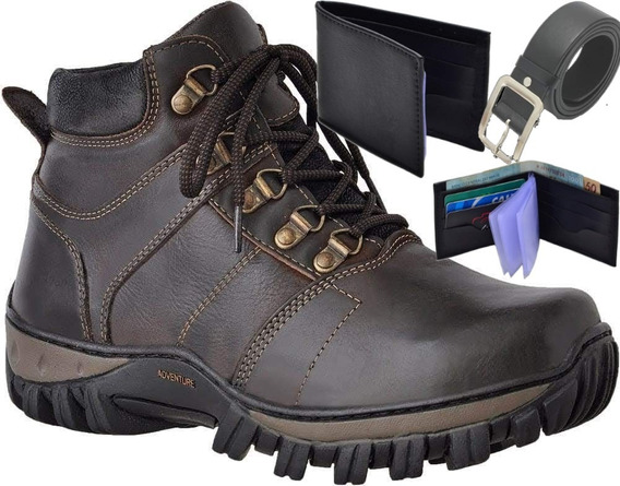 Sapato Bota Coturno Esl Rafarillo Democrata Ferracini Couro