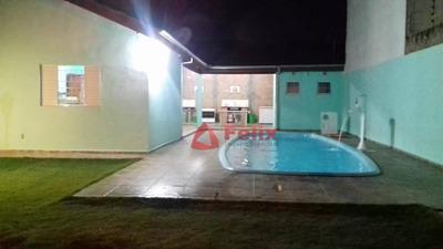 Edícula Com 1 Dormitório À Venda, 81 M² Por R$ 265.000 - Village Das Flores - Caçapava/sp - Ed0003