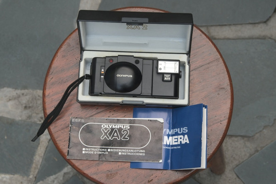 Olympus Xa2 Com Flash A11, Manuais E Case