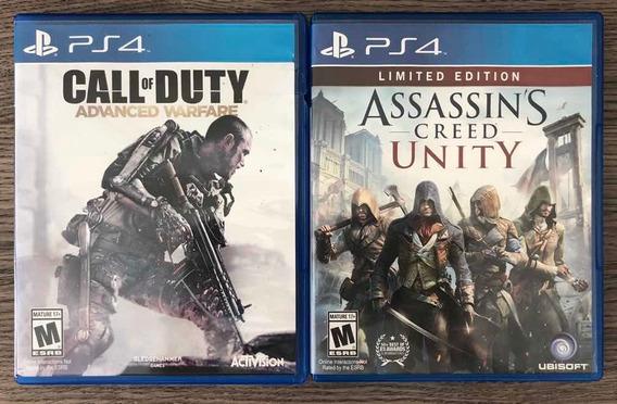 Assassins Creed - Unity E Call Of Duty - Advanced Warfare.