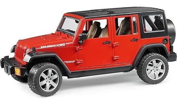 Juguetes Bruder Jeep Wrangler Unlimited Rubican 2525
