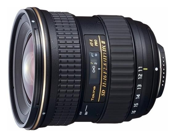 Lente Tokina Para Nikon 11-16mm Dx2 Ultra Grande Angular
