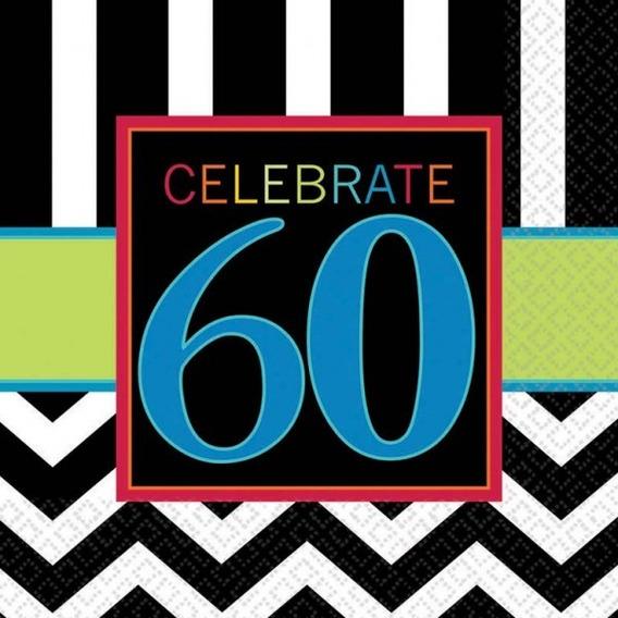 Servilleta Celebración 60 Años