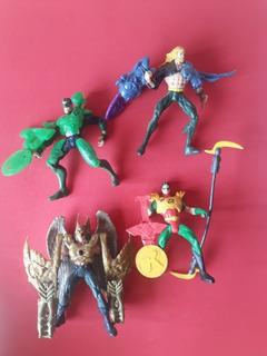 Coleccion Liga De La Justicia 4 Figuras