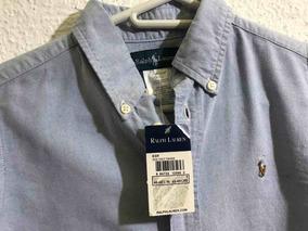Camisa Ralph Lauren Para Niño Talla 6 Original Nueva