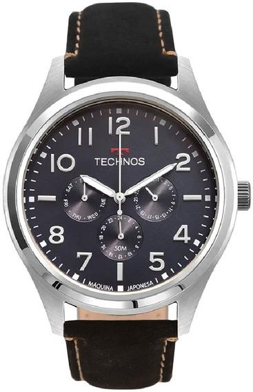 Relógio Technos Masculino Classic Steel 6p29akk/0a