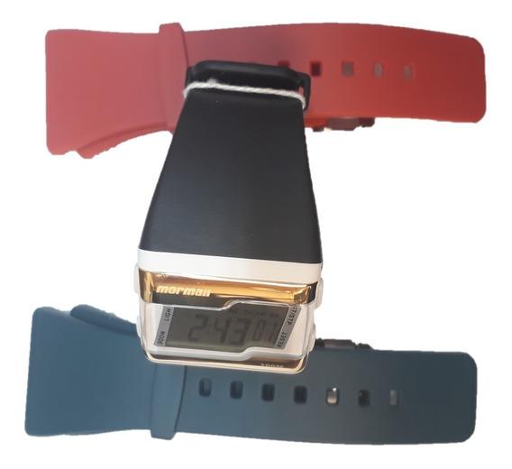 Relógio Mormaii Fzv/t8p Fz Troca Pulseiras Fzv Champion T8p