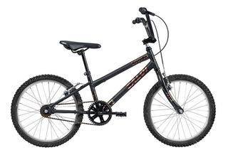 Bicicleta Infanto Juvenil Caloi Expert Aro 20 - Preto Fosco