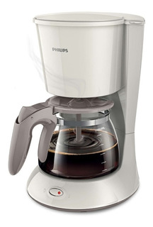 Cafetera Philips Daily Collection HD7447 Blanca/Beige seda 220V