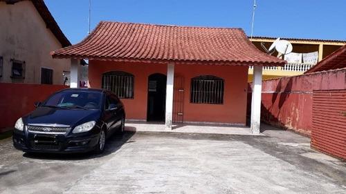 Imagem 1 de 14 de Ca141   Casa Lado Praia Com 1 Quarto, Em Itanhaém.