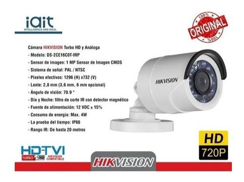 Oferta Cámara Seguridad Hd 720p Exterior
