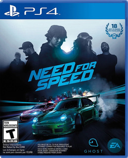 Need For Speed Ps4 -fisico-usado / Mipowerdestiny