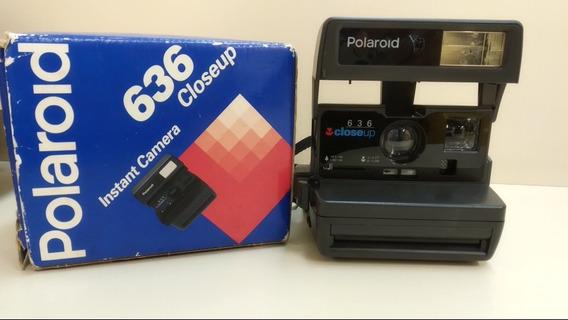 Câmera Polaroid 636 Closeup Com Caixa E Manual