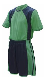 Camisa Calcao Fardamento Uniforme Time Futebol Kit 7 Pcs