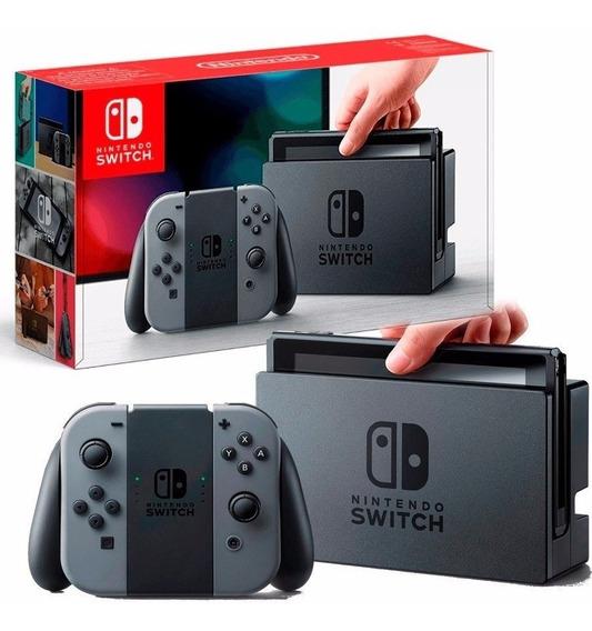Nintendo Switch 32gb Com Brindes! Jogo+pelicula+bolsa